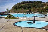 Luxury resort pool — Foto de Stock