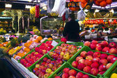 La Boqueria - famous market in Barcelona, next to the Ramblas. — Stock Photo