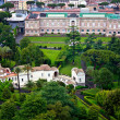 VaticGardens in Rome, Italy -panoramic view — Stock Photo #11217782
