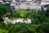 Vatican Gardens in Rome, Italy -panoramic view — Stock Photo