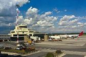 Malpensa airport — Stock Photo