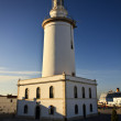 Lighthouse in Malaga — Stock Photo