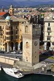 Savona - view of the port — Stock Photo