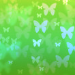 Seamless butterflies pattern — Stock Photo