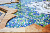 Detail of fountains in Hassan II mosque — Stock Photo