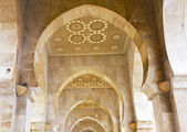 Archway at Hassan II mosque - Casablanca — Stock Photo