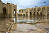Hassan II Mosque in Casablanca, Morocco — Stock Photo