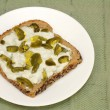 Stock Photo: Jalapeno Cheese Bread