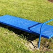 Stock Photo: Incline Sit Up Bench