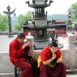 Foto Stock: Buddhist monks