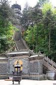 Pagoda in monastery — Stock Photo