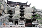 佛教寺天台山 — 图库照片
