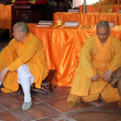 Stock Photo: Two monks