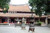 仏教寺院の中庭 — ストック写真