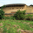 Big brick tulou — Stock Photo