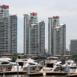 Boats and buildings — Stock Photo #10952258