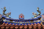Roof of temple — Stock Photo