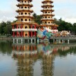 Stock Photo: Two pagodas