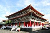 Corner of temple — Stock Photo