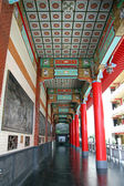 Koridoru a zeď — Stock fotografie