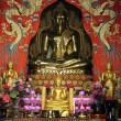 Buddha and shrine — Stock Photo