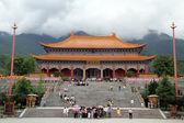 Big buddhist temple — Stock Photo