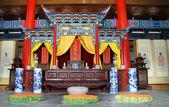 Inside temple — Stock Photo