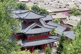 Pagode chinês um nd telhados — Fotografia Stock