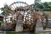 2 つの車輪 — ストック写真