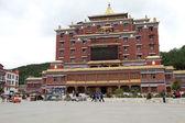 тибетская здание — Стоковое фото