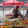 Stall on the market — Foto Stock