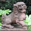 Stone lion — Stock Photo