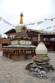 Tebetian stupas — Fotografia Stock