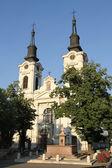 Kuleli kilisesi — Stok fotoğraf