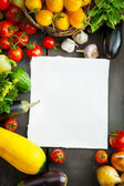 FARM FRESH vegetables and fruits — Stock Photo