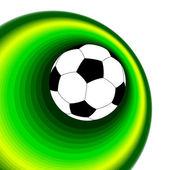 Achtergrond met bal — Stockvector