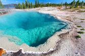 Black Pool Yellowstone National Park — Stock Photo