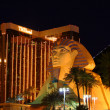 Stock Photo: Luxor Sphinx and Mandalay Bay