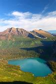 Grinnell lago parco nazionale del ghiacciaio — Foto Stock
