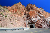Buffalo Bill Dam Tunnel Wyoming — Stock Photo