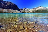 Bow Lake Banff National Park — Stock Photo