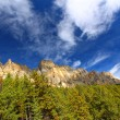 Stock Photo: Castle Mountain Banff National Park