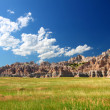 prateria di Badlands national park — Foto Stock #11564077