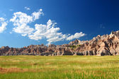 Badlands National Park Prairie — Stock Photo