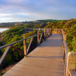 Stock Photo: AustraliCoastline Boardwalk