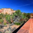 Stock Photo: Zion National Park Overlook