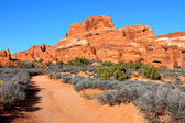 Arches National Park Utah — Stock Photo