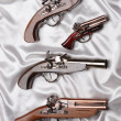 Souvenir antique pistols — Stock Photo