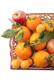 Bandeja de la fruta — Foto de Stock