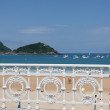 De la Concha beach in San Sebastian, Spain — Stock Photo #11305925